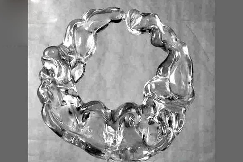 透明树脂雕塑